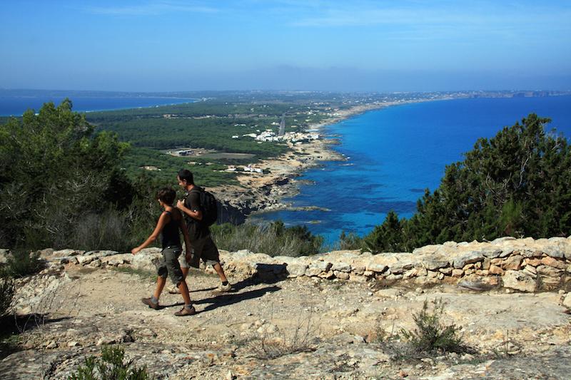 Senderismo Moonkoala Formentera. Viver sem pressa